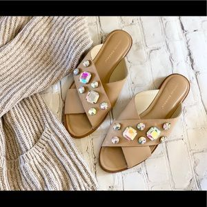 Loeffler Randall jeweled sandals